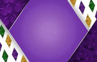 Mardi Gras Glitter Background vector