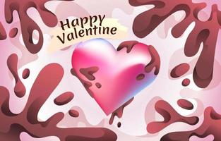Valentine Heart Choco vector