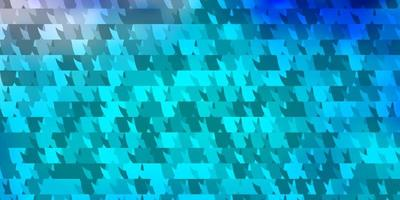Light Pink, Blue vector pattern with polygonal style.