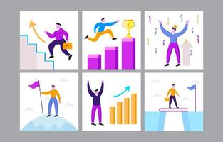 Work and Career Resolution vector
