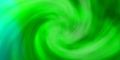 Telón de fondo de vector verde claro con cúmulos.