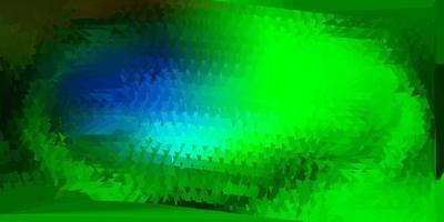 Dark multicolor vector triangle mosaic pattern.