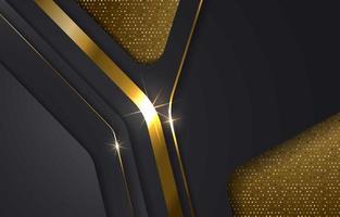 Luxury gold background vector