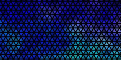 Dark Pink, Blue vector background with polygonal style.