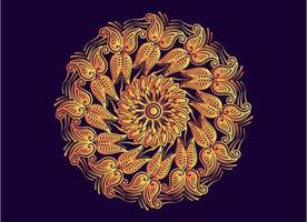 butterflies abstract geometric shape mandala background design vector