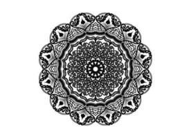 abstract decorative Islamic pattern mandala design vector