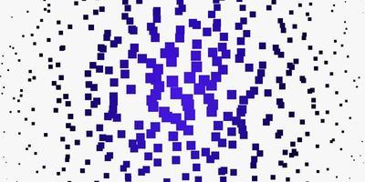 telón de fondo de vector púrpura claro con rectángulos.