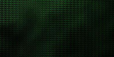 Telón de fondo de vector verde oscuro con líneas.