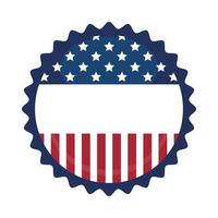 Usa seal stamp vector design
