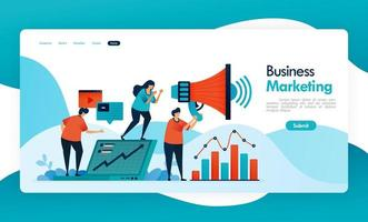 business banner for refer a friend, referral MLM program, affiliate agent and marketing, increase income by inviting friend, megaphone for promotion and ads. vector design for flyer poster mobile apps