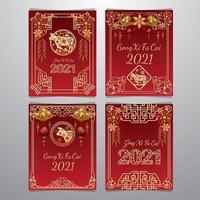 Gong Xi Fa Cai Card Concept vector
