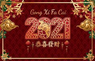 concepto de fondo de año nuevo chino