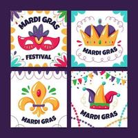 Mardi Gras Card Collections