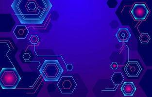 Geometric Tech Shape Background