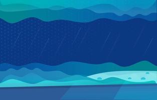 Deep Bottom Sea Abstract Background vector