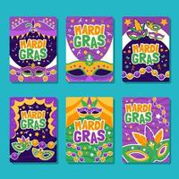 Mask of Party Mardi Gras Posters