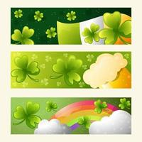 St. Patricks Day Realistic Shamrock vector