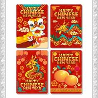 Festive Chinese New Year Deluxe vector