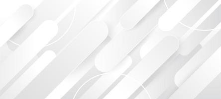 fondo abstracto de formas blancas vector