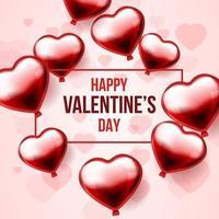 Happy Valentine's Day Concept vector