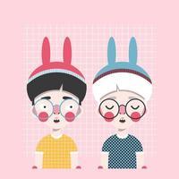 Bunny boys print
