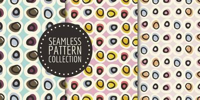 Seamless pattern with dots vector
