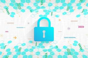 Background secure digital security system