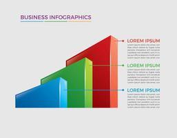 Business concept infographic design vector illustration
