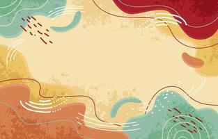 Hand Drawn Abstract Background vector
