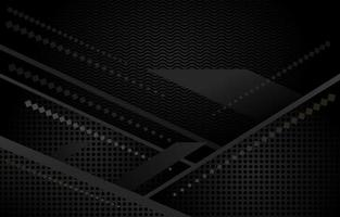 Black Geometric Shape vector