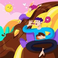 Enjoy The Valentine in Chocolate Fantasy Land