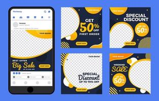 Promotion Deals for Marketing Purposes vector