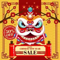 Chinese New Year Illustration for marketing