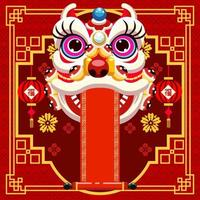 Festivity Background for Chinese New Year Event