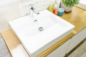 lavabo de baño cuadrado