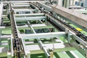 Conveyor on production line