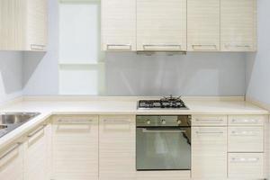 cocina moderna beige