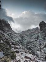 Mediterranean Corsica mountains