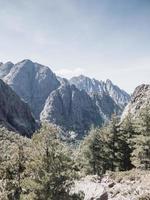 Rocky Corsica mountains
