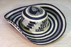 sombrero vueltiao tradicional colombiano foto