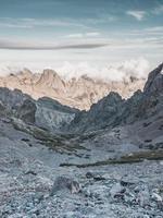 Rocky Corsica mountains photo