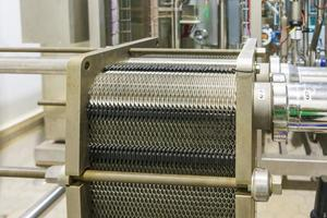 Industrial plant machine