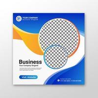 Business Social media post vector
