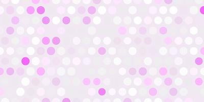 Light purple vector texture with disks.