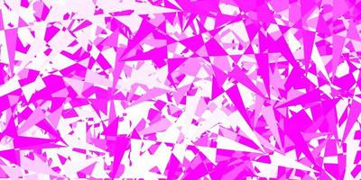Light pink vector pattern with polygonal shapes.