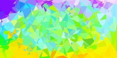 Light multicolor vector polygonal background