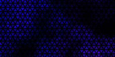 Dark Purple vector layout with lines, triangles.