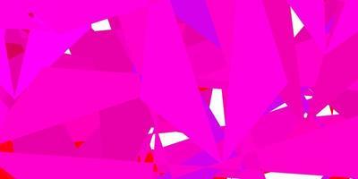 Dark pink vector gradient polygon design.
