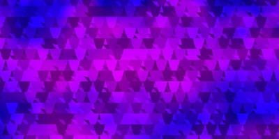 Light Purple, Pink vector background with polygonal style.