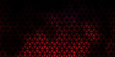diseño de vector multicolor oscuro con líneas, triángulos.